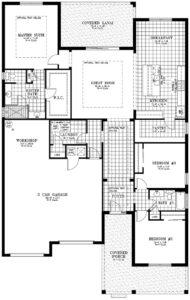 Calesa Township Floor Plans Begonia