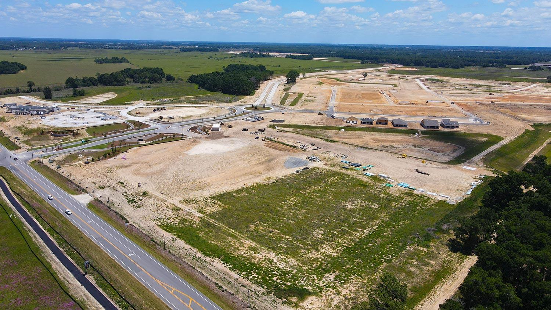 Site progress of Calesa Township in Ocala, FL 5-15-2021