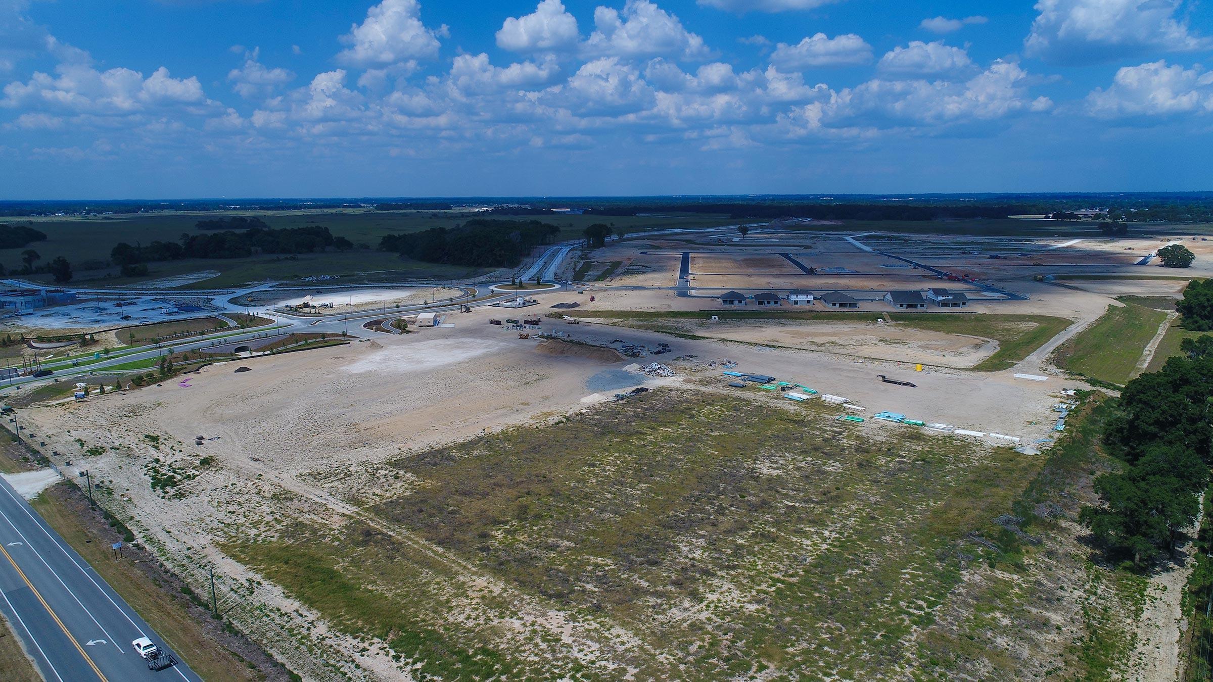Site progress of Calesa Township in Ocala, FL 5-28-2021