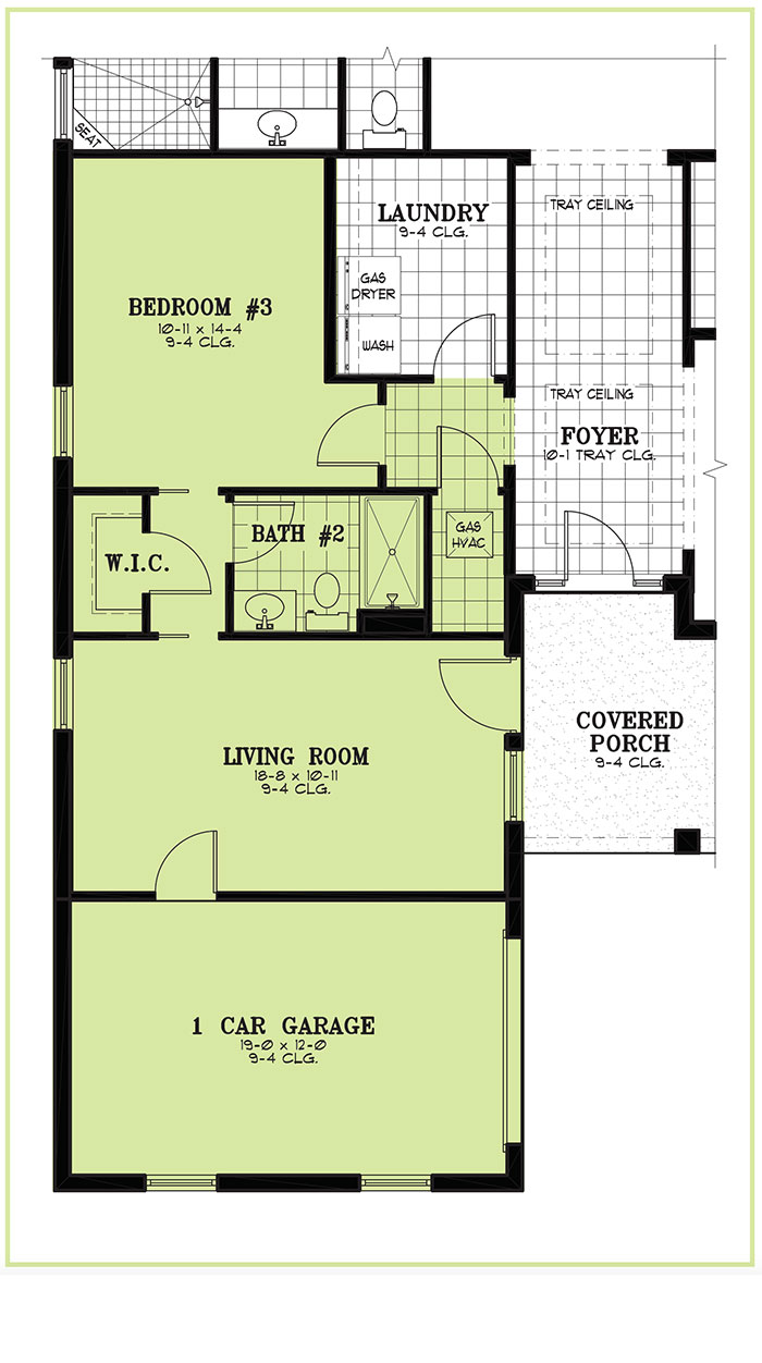 Calesa Township Floor Plans Ocala FL - Hawthorn HomeFlex Option