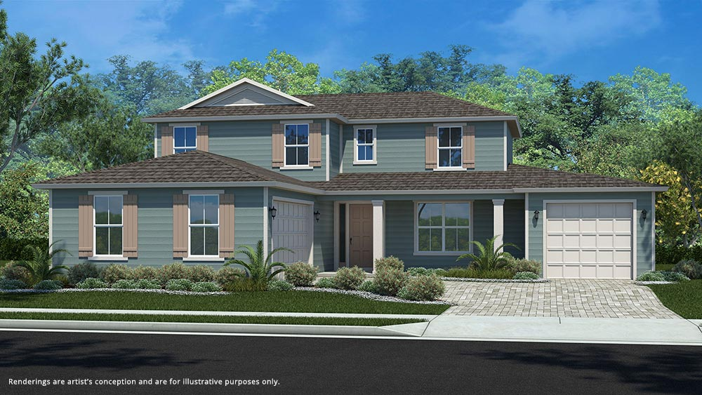 Calesa Township Floor Plans Mullberry A Elevation